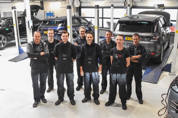 Land Rover Spot Repair Den Bosch